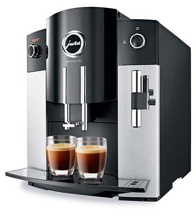 An image of Jura C65, one of the best super automatic espresso machines under $1000