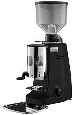 An Image of Mazzer Major, our choice for the best electronic flat burr espresso grinder