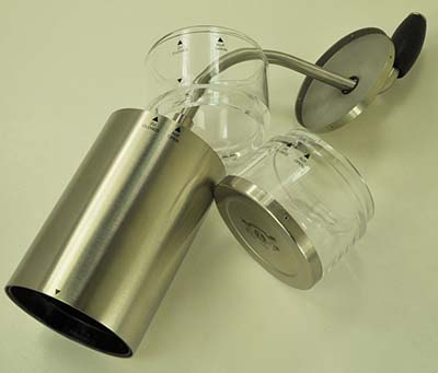 An image of the Zassenhaus Lima, a portable hand grinder