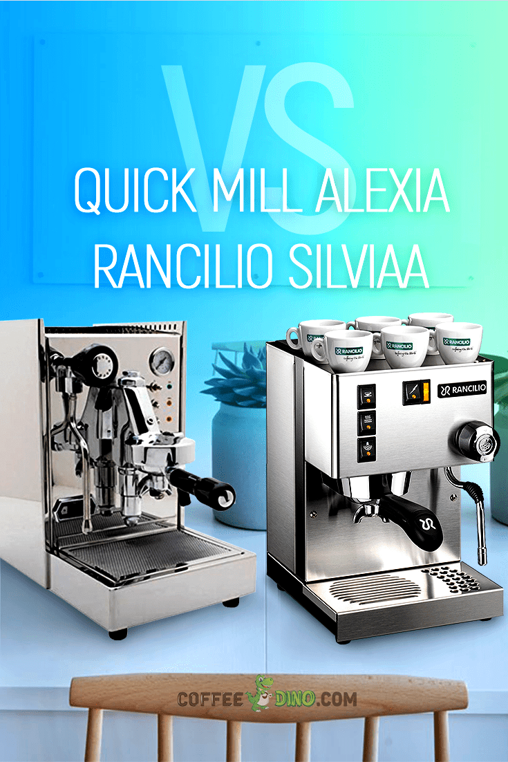 You won't want to miss our in-depth Quick Mill Alexia vs Rancilio Silvia comparison review. Check it out before you buy! @QuickMill2 @RancilioCoffee @RancilioGroup