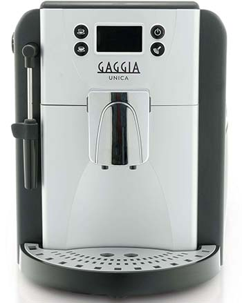 An image of Gaggia Unica's stem wand for milk frothing