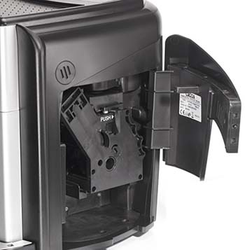 An image of Gaggia Unica's removable brew unit