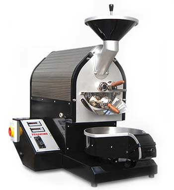 An image of the black variant of Probatino roaster