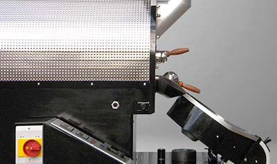An image of the cooling tray of Probatino roaster