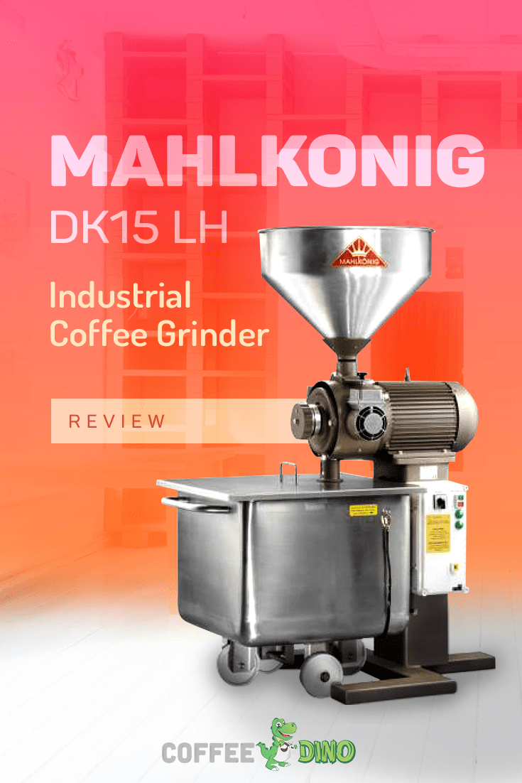 You won't want to miss our detailed Mahlkonig DK15 LKH review.  An exceptional machine for small to medium sized operations! @Mahlkoenig