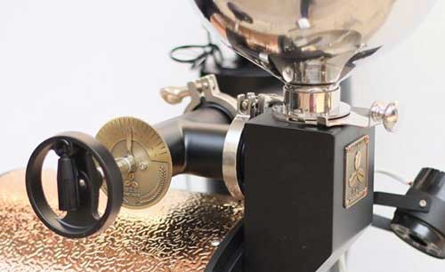 An image of the control knob of Sedona Elite 3200 Commercial Roaster