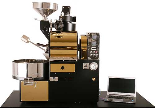 An image of Sedona Elite 3200 Commercial Roaster in Gold Black