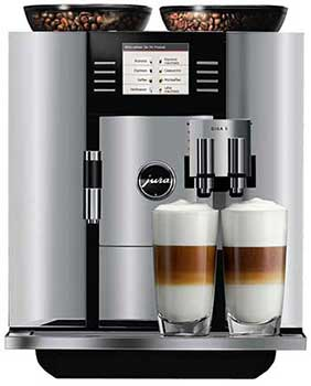 An image Jura Giga 5, our top pick for the best super automatic espresso machine