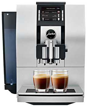 An image of Jura Z6, an espresso machine that features a ten boiler temperature settings