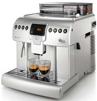 An image of Saeco Royal, a capable super automatic espresso machine