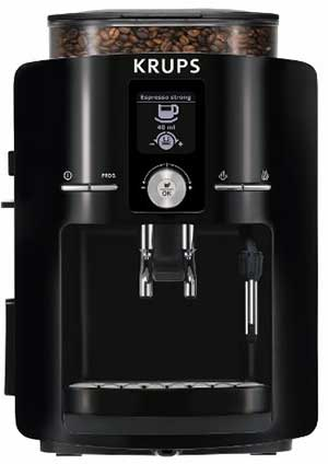 An image of the Krups EA8250 espresso machine