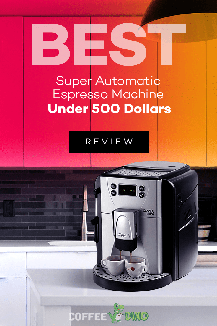 You won't want to miss our detailed roundup review, where we search for the best super automatic espresso machine under 500.