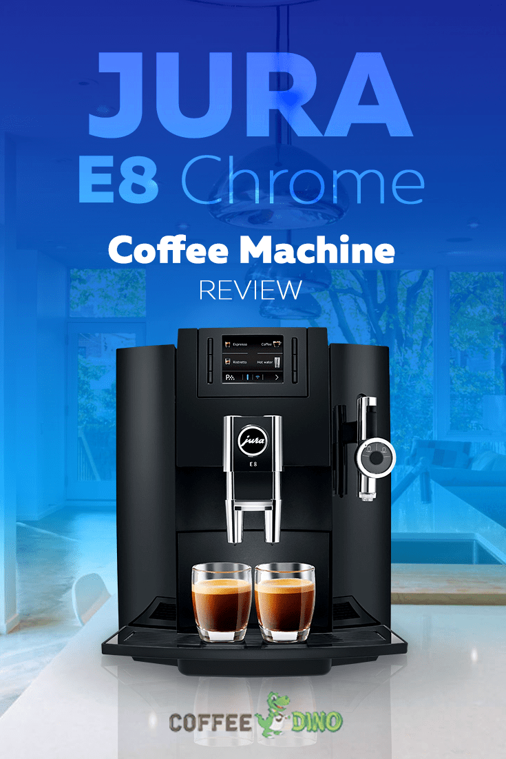 Check out our detailed Jura E8 Chrome review.  An exquisite, feature-rich super automatic espresso machine with a lot to offer! @JuraProducts