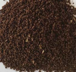 An image showing medium coffee grind