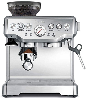 Front View of Breville BES870XL