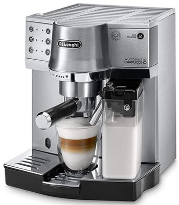 Right Image View of DeLonghi EC860