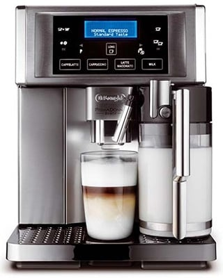 Front Image View of Delonghi Gran Dama 6700