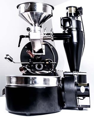 Front View of ARC 800G Roaster