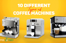 10 Different Types of Coffee Machines