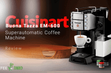 Cuisinart Buona Tazza EM 600 Super Automatic Coffee Machine Review