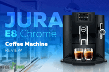 Jura E8 Chrome Coffee Machine Review