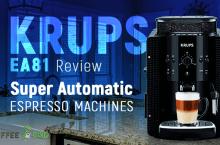 Krups EA81 Review – Super Automatic Espresso Machines