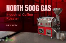 North 500g Gas Industrial Coffee Roaster Review