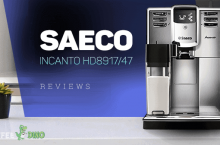 Saeco Incanto HD8917/47 and HD8917/48 Carafe Review