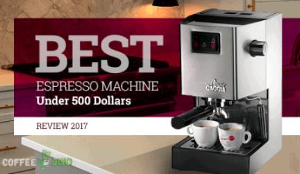 Best Espresso Machine Under 500 Dollars Review 2021