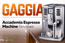 Gaggia Accademia Espresso Machine Reviews and Ratings