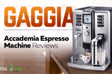 Gaggia Accademia Espresso Machine Reviews and Ratings