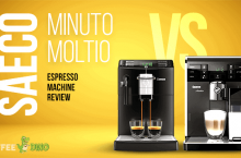 Saeco Moltio vs Minuto Espresso Machine Review